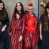 Cassandra Bickman, Raquel Allegra, Kate Shela, Mijanou Montealegre; Photo:Magda Wosinska
